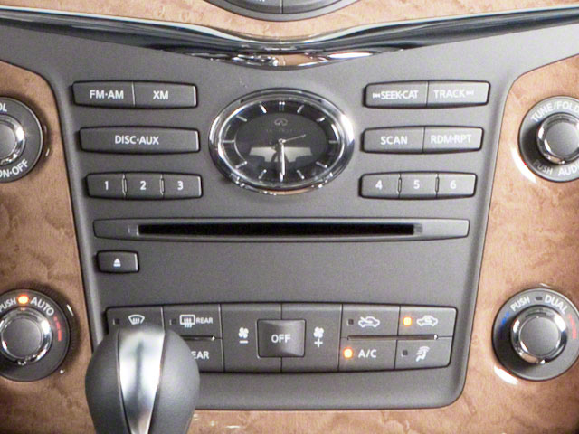 2012 INFINITI QX56 Pictures QX56 Utility 4D 2WD photos stereo system
