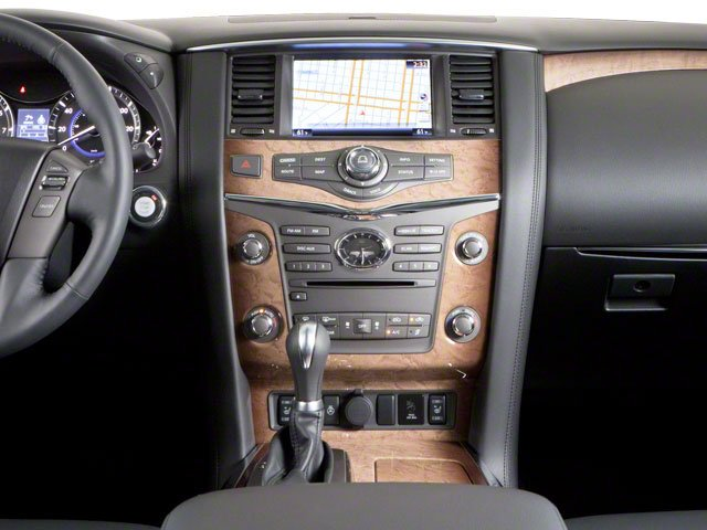 2012 INFINITI QX56 Prices and Values Utility 4D 4WD center console