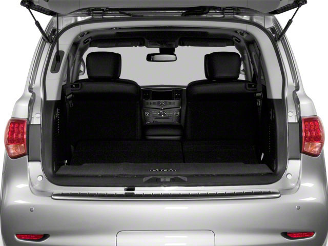 2012 INFINITI QX56 Prices and Values Utility 4D 4WD open trunk