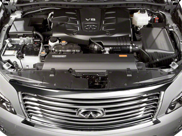 2012 INFINITI QX56 Prices and Values Utility 4D 4WD engine