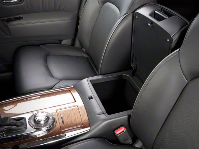 2012 INFINITI QX56 Prices and Values Utility 4D 4WD center storage console