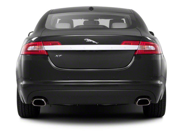 2012 Jaguar XF Prices and Values Sedan 4D XFR Supercharged rear view