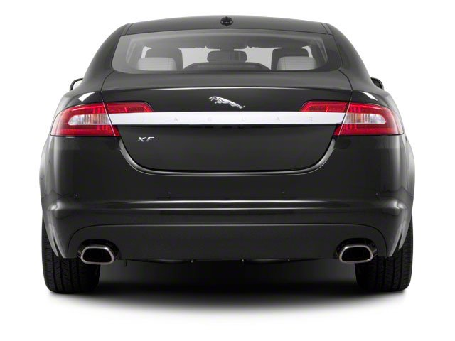 2012 Jaguar XF Pictures XF Sedan 4D photos rear view