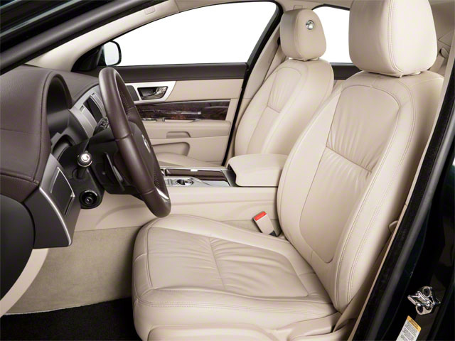 2012 Jaguar XF Prices and Values Sedan 4D XFR Supercharged front seat interior
