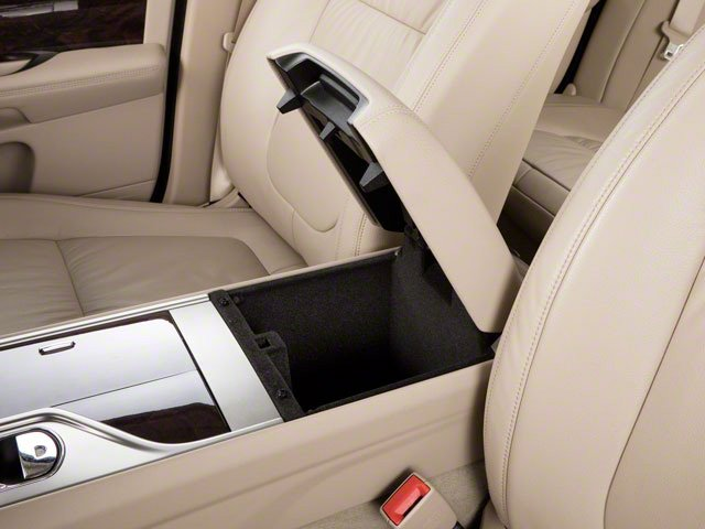 2012 Jaguar XF Prices and Values Sedan 4D XFR Supercharged center storage console