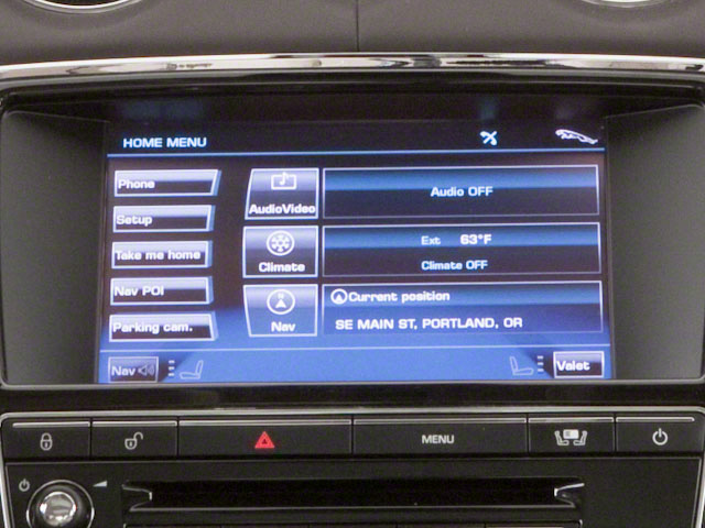 2012 Jaguar XJ Pictures XJ Sedan 4D photos navigation system
