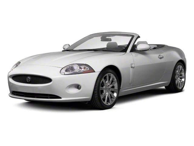 2012 Jaguar XK Prices and Values Convertible 2D side front view