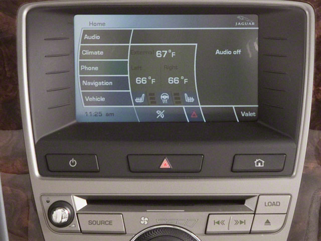 2012 Jaguar XK Prices and Values Convertible 2D stereo system