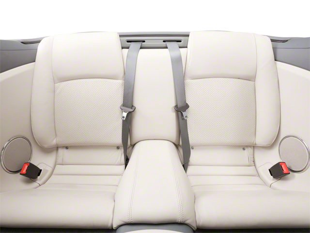 2012 Jaguar XK Prices and Values Convertible 2D backseat interior