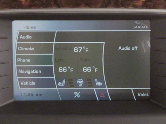 2012 Jaguar XK Prices and Values Convertible 2D navigation system