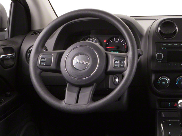 2012 Jeep Compass Prices and Values Utility 4D Limited 4WD driver's dashboard