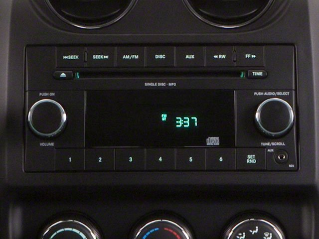 2012 Jeep Compass Prices and Values Utility 4D Limited 4WD stereo system