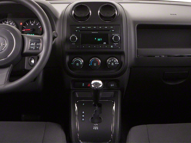 2012 Jeep Compass Prices and Values Utility 4D Limited 4WD center console