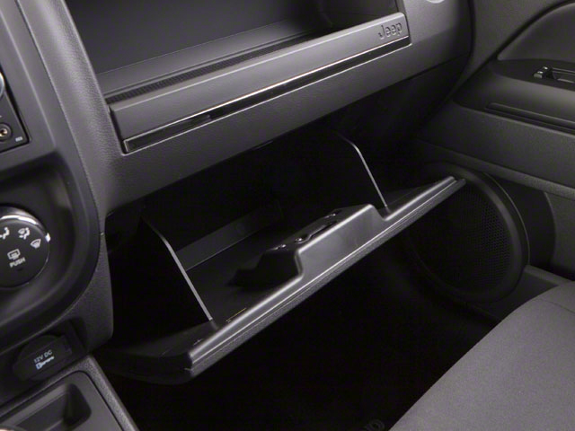 2012 Jeep Compass Prices and Values Utility 4D Limited 4WD glove box