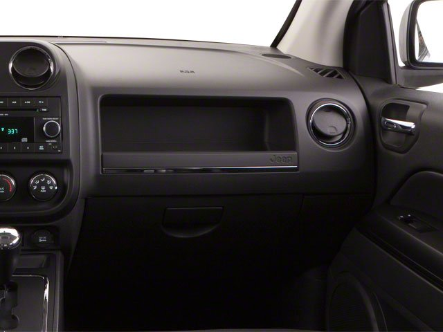 2012 Jeep Compass Prices and Values Utility 4D Limited 4WD passenger's dashboard