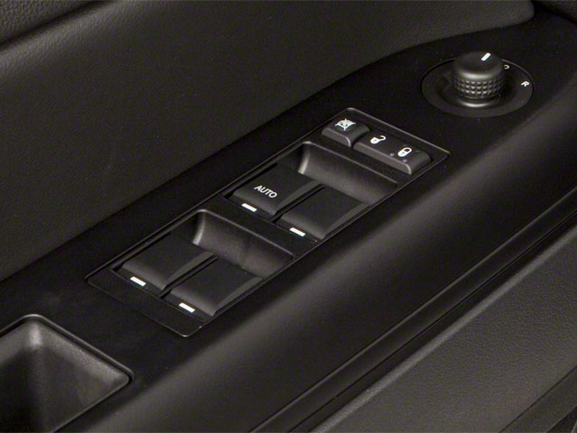 2012 Jeep Compass Prices and Values Utility 4D Limited 4WD driver's side interior controls