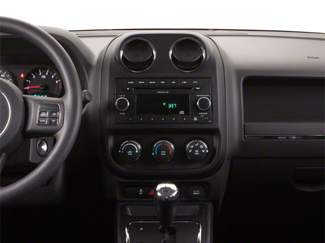 2012 Jeep Compass Prices and Values Utility 4D Limited 4WD center dashboard