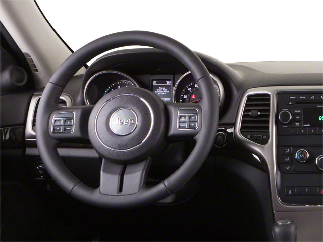 2012 Jeep Grand Cherokee Prices and Values Utility 4D SRT-8 4WD driver's dashboard