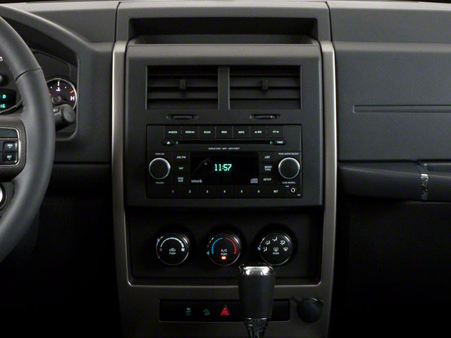2012 Jeep Liberty Prices and Values Utility 4D Limited 4WD center console