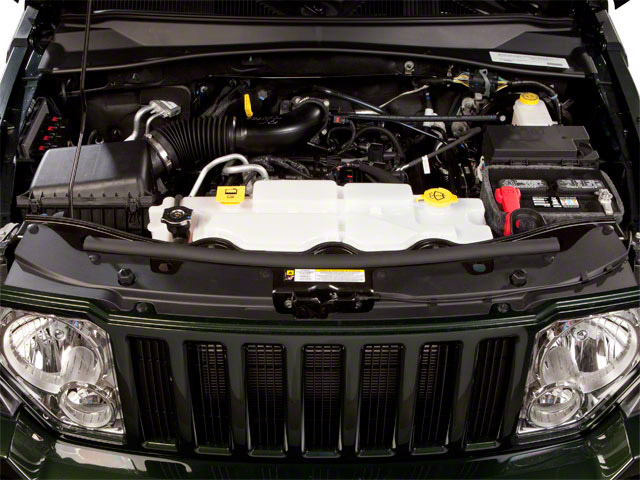 2012 Jeep Liberty Prices and Values Utility 4D Limited 4WD engine