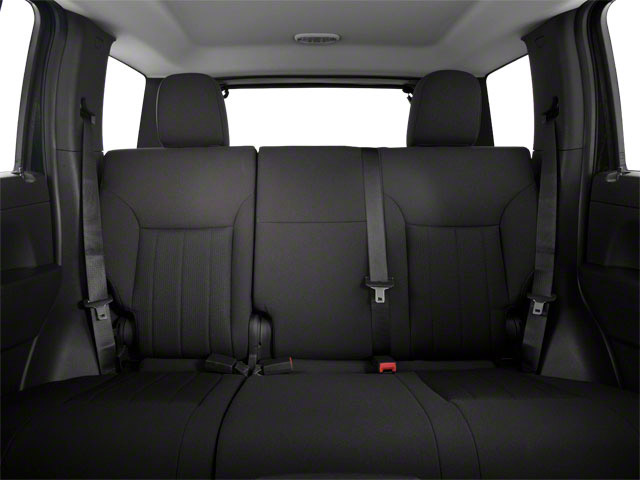 2012 Jeep Liberty Prices and Values Utility 4D Sport 2WD backseat interior