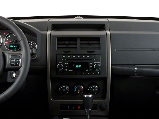 2012 Jeep Liberty Prices and Values Utility 4D Limited 4WD center dashboard