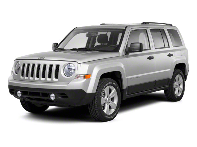 2012 Jeep Patriot Prices and Values Utility 4D Latitude 4WD side front view