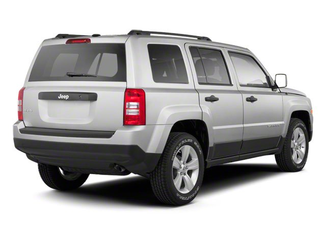 2012 Jeep Patriot Prices and Values Utility 4D Latitude 4WD side rear view