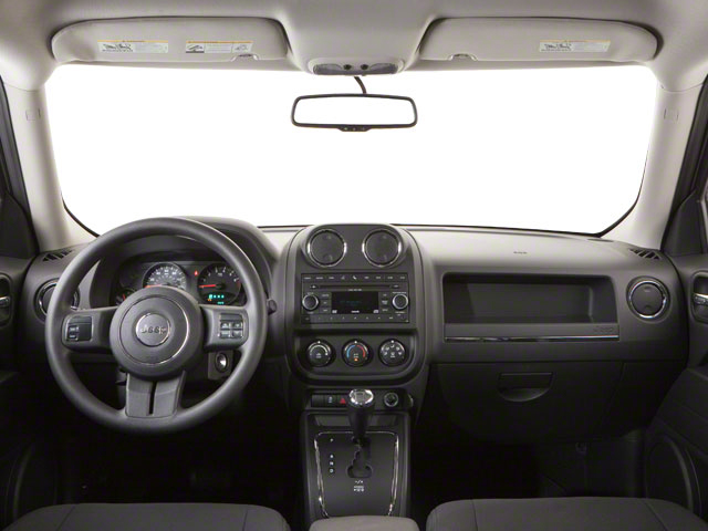 2012 Jeep Patriot Prices and Values Utility 4D Latitude 4WD full dashboard