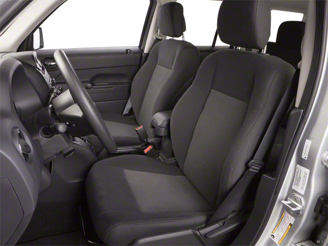 2012 Jeep Patriot Prices and Values Utility 4D Latitude 4WD front seat interior
