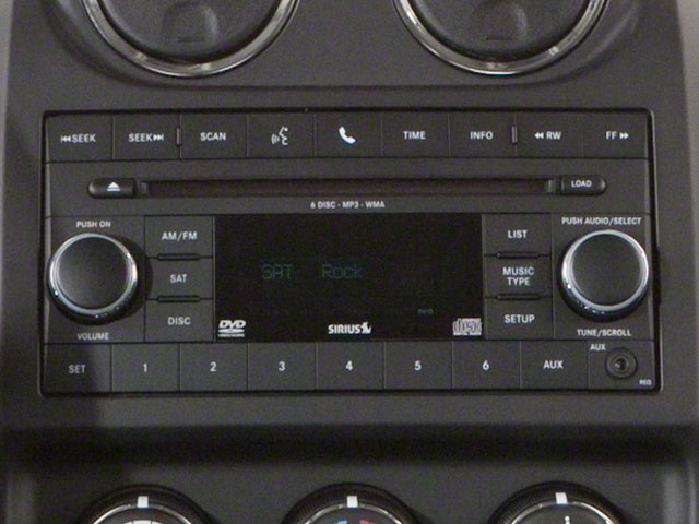 2012 Jeep Patriot Prices and Values Utility 4D Latitude 4WD stereo system