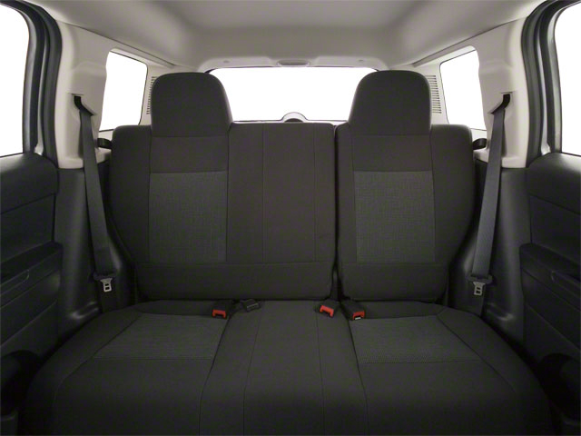 2012 Jeep Patriot Prices and Values Utility 4D Latitude 4WD backseat interior
