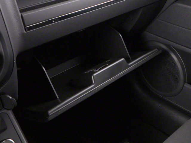 2012 Jeep Patriot Prices and Values Utility 4D Latitude 4WD glove box