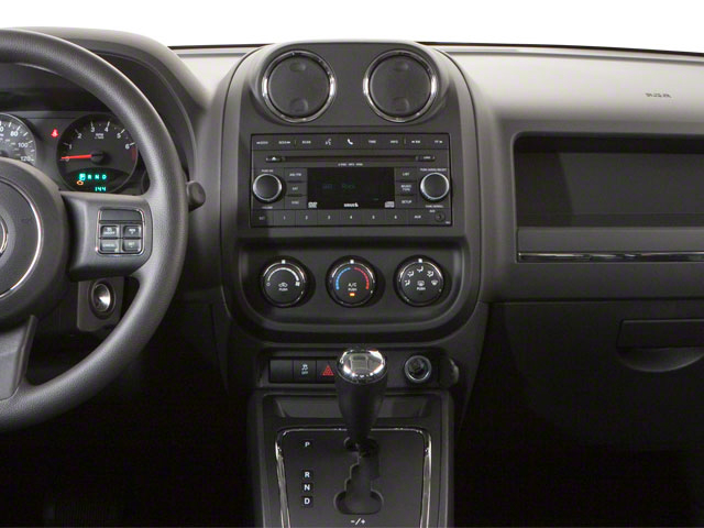 2012 Jeep Patriot Prices and Values Utility 4D Latitude 4WD center dashboard