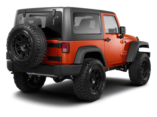 2012 Jeep Wrangler Pictures Wrangler Utility 2D Sport 4WD photos side rear view