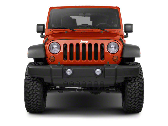 2012 Jeep Wrangler Pictures Wrangler Utility 2D Sport 4WD photos front view