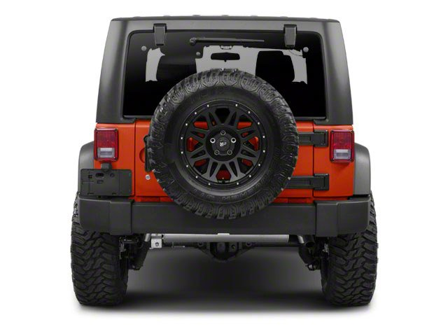 2012 Jeep Wrangler Pictures Wrangler Utility 2D Sport 4WD photos rear view