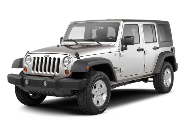 2012 Jeep Wrangler Unlimited Prices and Values Utility 4D Unlimited Rubicon 4WD side front view