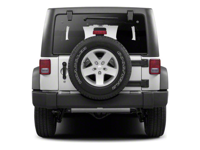 2012 Jeep Wrangler Unlimited Prices and Values Utility 4D Unlimited Rubicon 4WD rear view