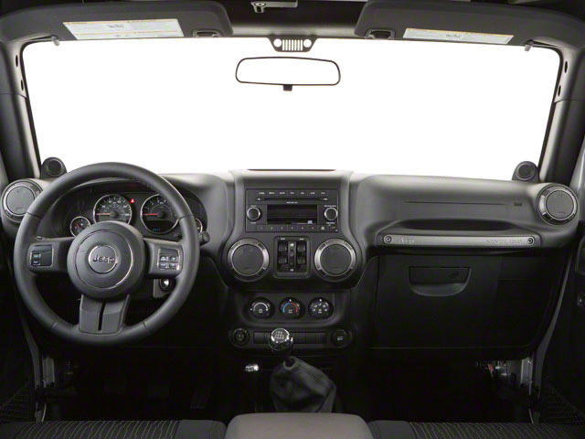 2012 Jeep Wrangler Unlimited Prices and Values Utility 4D Unlimited Rubicon 4WD full dashboard