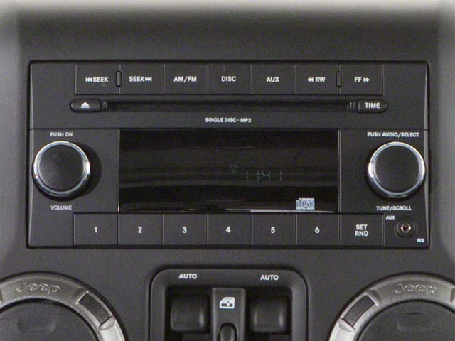 2012 Jeep Wrangler Unlimited Prices and Values Utility 4D Unlimited Rubicon 4WD stereo system