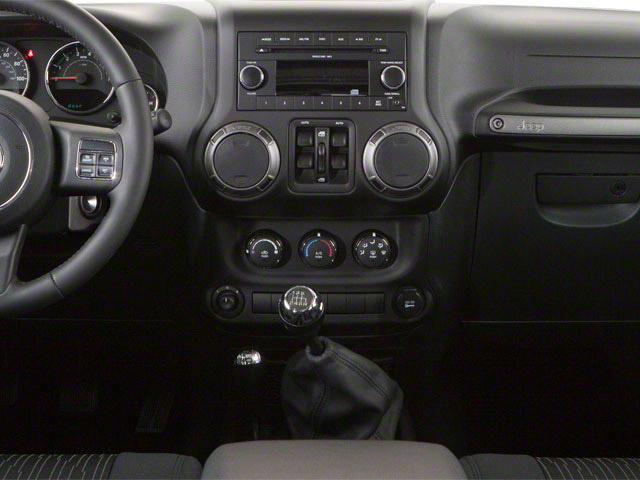 2012 Jeep Wrangler Unlimited Prices and Values Utility 4D Unlimited Rubicon 4WD center console