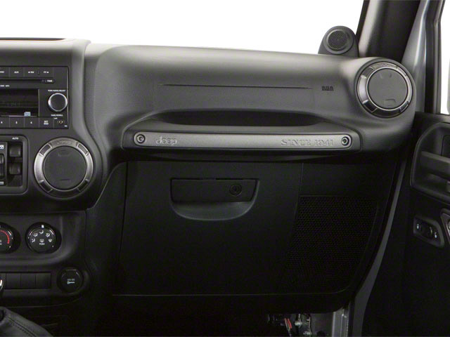 2012 Jeep Wrangler Unlimited Prices and Values Utility 4D Unlimited Rubicon 4WD passenger's dashboard