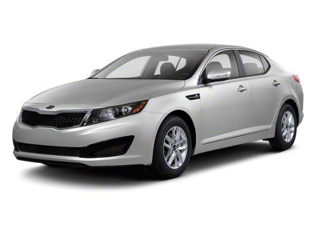 2012 Kia Optima Prices and Values Sedan 4D LX side front view