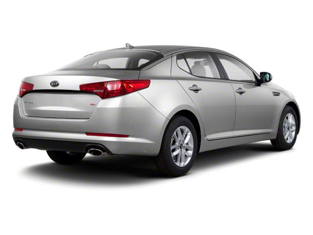 2012 Kia Optima Prices and Values Sedan 4D LX side rear view
