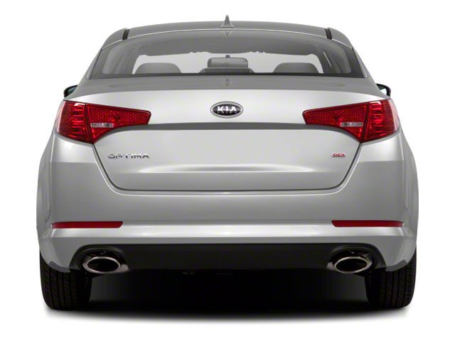 2012 Kia Optima Prices and Values Sedan 4D LX rear view
