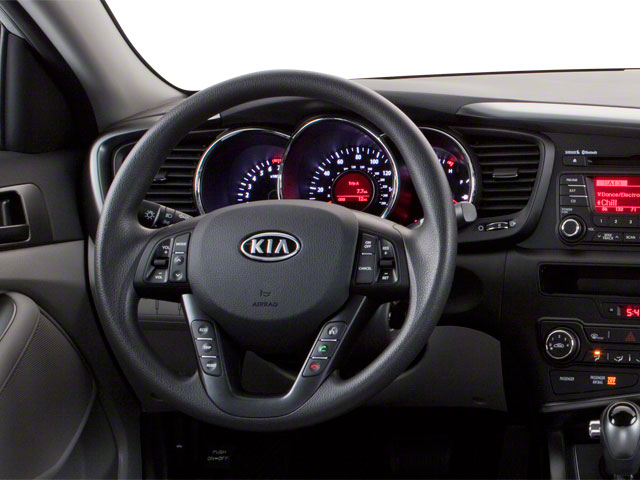 2012 Kia Optima Prices and Values Sedan 4D LX driver's dashboard