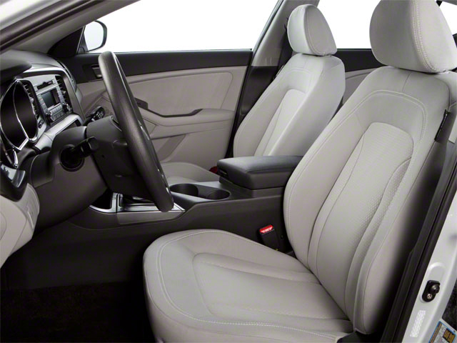 2012 Kia Optima Prices and Values Sedan 4D LX front seat interior