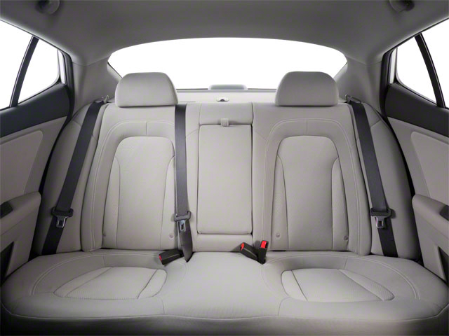 2012 Kia Optima Prices and Values Sedan 4D LX backseat interior