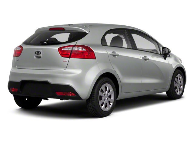 2012 Kia Rio Prices and Values Hatchback 5D SX side rear view